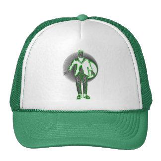 frankenstein verde gorro de camionero