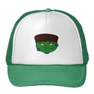 Frankenstein verde joven gorros