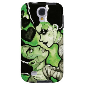 Frankenstein y su caja del teléfono de la novia