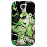 Frankenstein y su caja del teléfono de la novia funda para galaxy s4