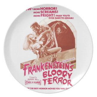 Frankenstein's Bloody Terror Plate