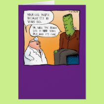 Frankensteins Doctor Get Well Soon Card