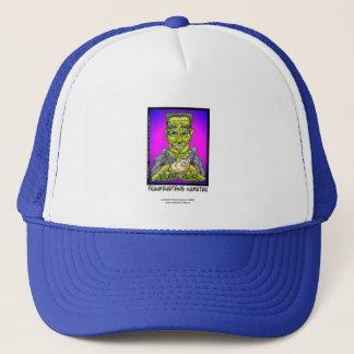Frankenstein's Hamster Funny Cartoon Cap