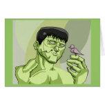 Frankensteins Monster Greeting Cards