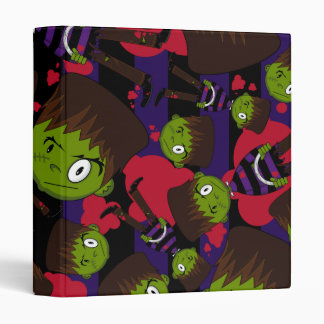Frankensteins Monster Patterned Binder