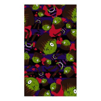 Frankensteins Monster Patterned Bookmark Business Card