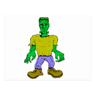 Frankenstein's Monster Postcard