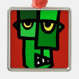 Frankenstein's Munster. Metal Ornament