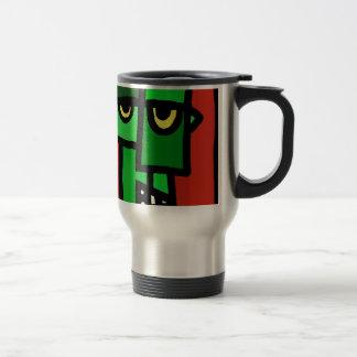 Frankenstein's Munster. Travel Mug