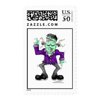 Frankenstien Halloween Stamp