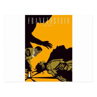 frankenstien postcard