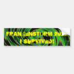 Frankenstorm 2012 bumper stickers