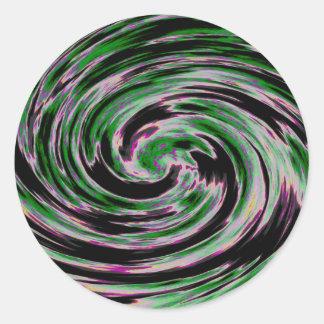 Frankenstorm 2012 classic round sticker