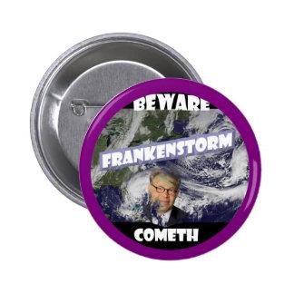 Frankenstorm 2 Inch Round Button
