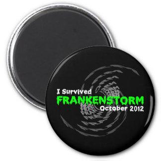Frankenstorm 2 Inch Round Magnet