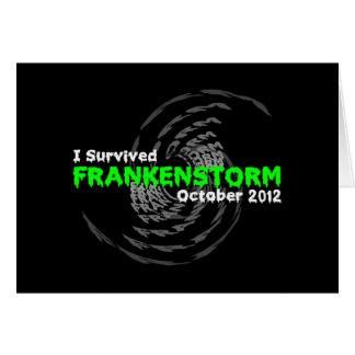 Frankenstorm Card