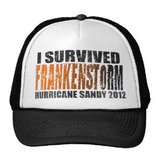 FRANKENSTORM Hurricane Sandy 2012 Distressed Hat