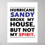 Frankenstorm Hurricane Sandy Posters