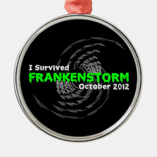 Frankenstorm Metal Ornament