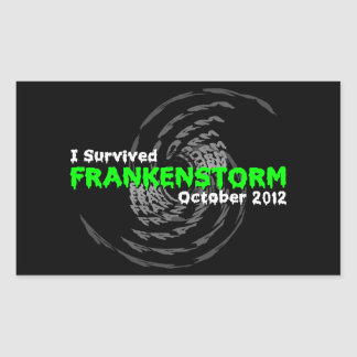 Frankenstorm Rectangular Sticker