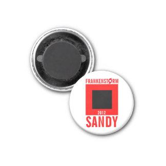 Frankenstorm Sandy Hurricane Magnet 6