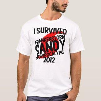 Frankenstorm Sandy Snowpocalypse Hurricane 2012 T-Shirt