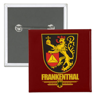 Frankenthal 2 Inch Square Button