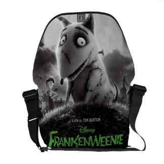 Frankenweenie Movie Poster Courier Bag