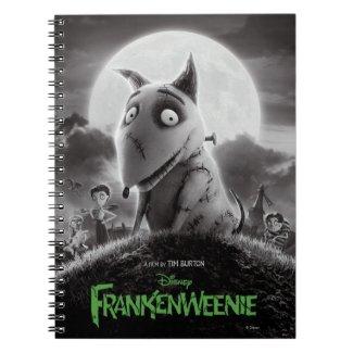 Frankenweenie Movie Poster Notebook