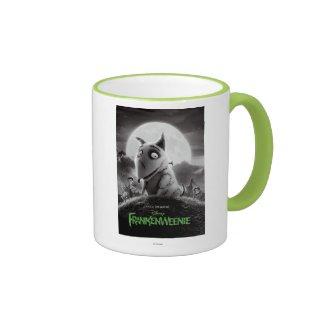 Frankenweenie Movie Poster Ringer Coffee Mug