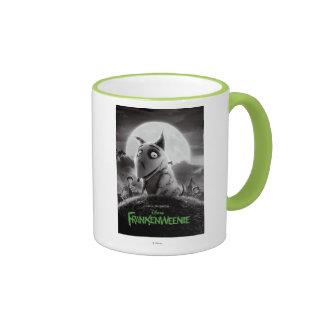 Frankenweenie Movie Poster Ringer Mug