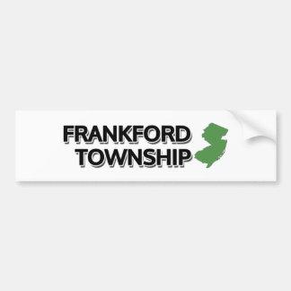 Frankford Township, New Jersey Bumper Sticker