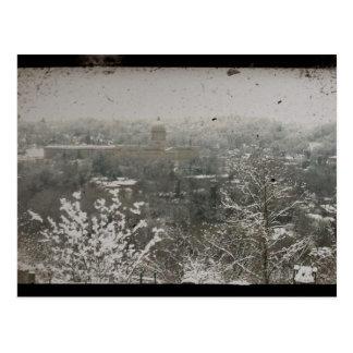 Frankfort céntrico, Kentucky en invierno Postales