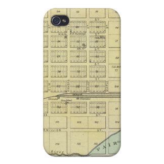 Frankfort, ciudad casera, Bremen, y Herkimer, Kans iPhone 4 Carcasas