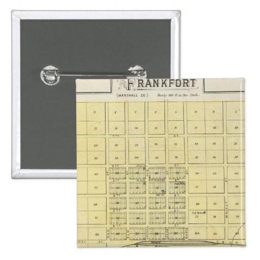 Frankfort, ciudad casera, Bremen, y Herkimer, Kans Pins