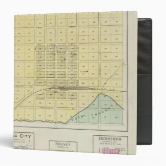 Frankfort, Home City, Bremen, and Herkimer, Kansas 3 Ring Binder
