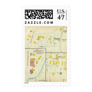 Frankfort, Kentucky 10 Timbres Postales