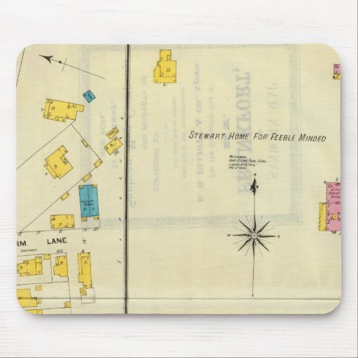 Frankfort, Kentucky 14 Mouse Pad