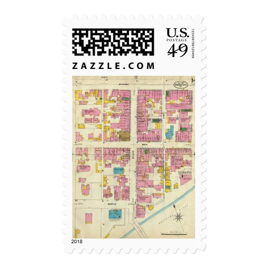 Frankfort, Kentucky 2 Postage