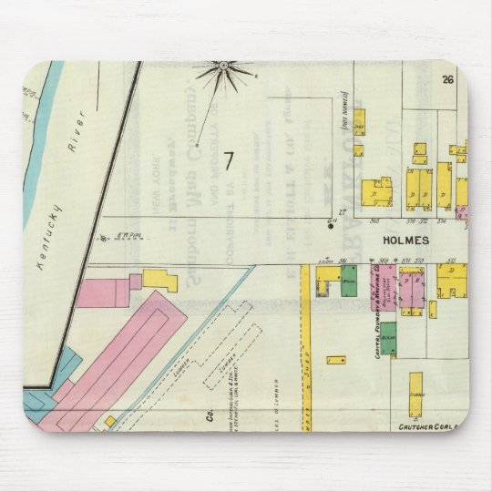 Frankfort, Kentucky 4 Mouse Pad