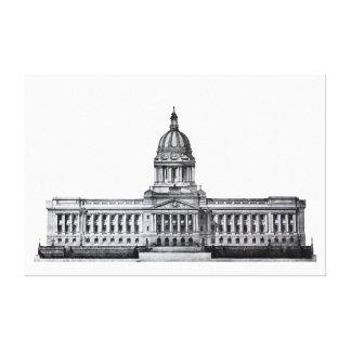 Frankfort Kentucky Kentucky State Capitol Building Canvas Print