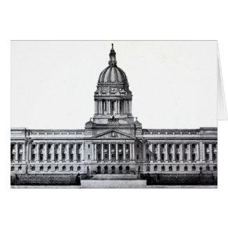 Frankfort Kentucky Kentucky State Capitol Building Card