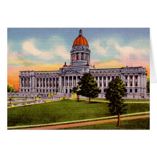 Frankfort Kentucky State Capitol Card