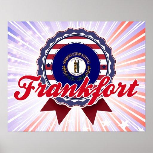 Frankfort, KY Póster