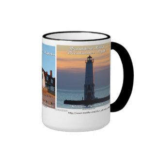 Frankfort Light _ Point Betsie _ Manning Memorial Ringer Mug