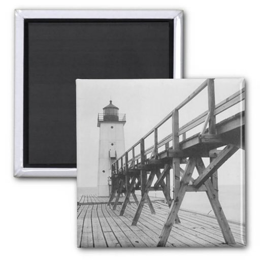 Frankfort Lighthouse Magnets