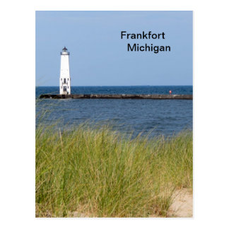 Frankfort Michigan Postcard