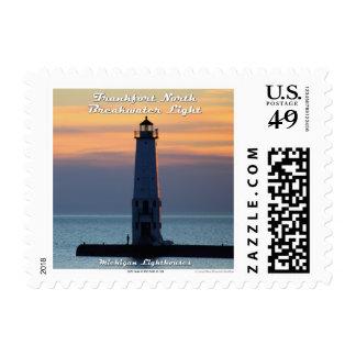 Frankfort North Breakwater Light: 1st Class Stamp