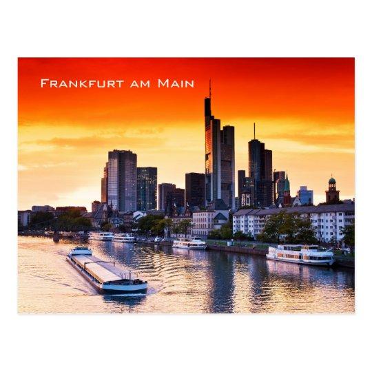 Frankfurt 001D Postcard