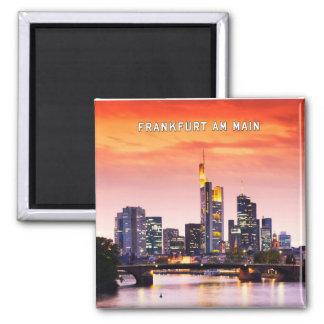Frankfurt am Main 02D Refrigerator Magnet